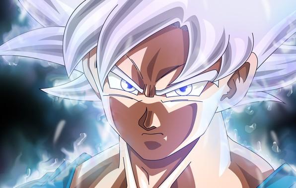 Картинка goku, ultra instinct, ultra instinct perfected, dragon ball super