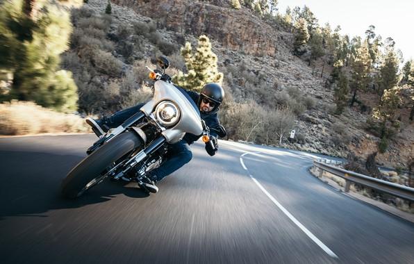 Картинка Harley Davidson, Touring, Electra Glide, Milwaukee Eight 107