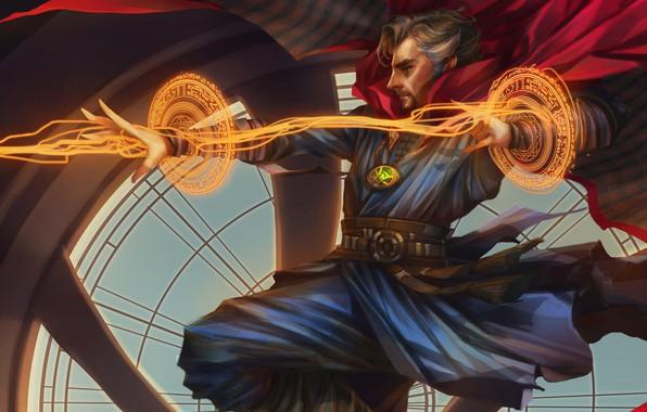 Картинка арт, Doctor Strange, Доктор Стрэндж, Стивен Стрэндж