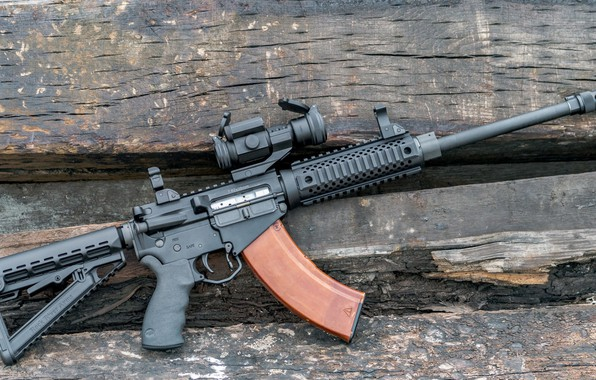 Картинка оружие, винтовка, weapon, custom, м16, ar-15, assault rifle, m16, assault Rifle, 7.65 мм, ар-15, ар …