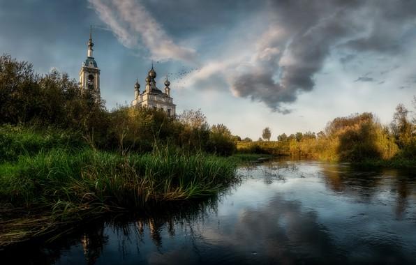 Картинка природа, храм, Russia, Savinskoye, Yaroslavskaya Oblast'