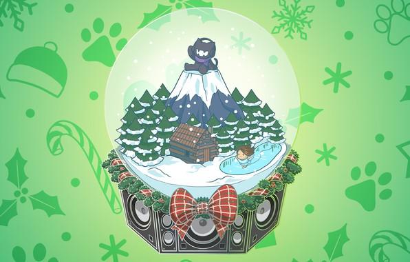 Картинка Music, Cover, Monstercat, Skyelle, Christmas Ain't The Same
