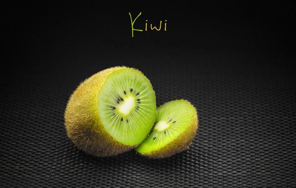 Картинка надпись, киви, фрукт