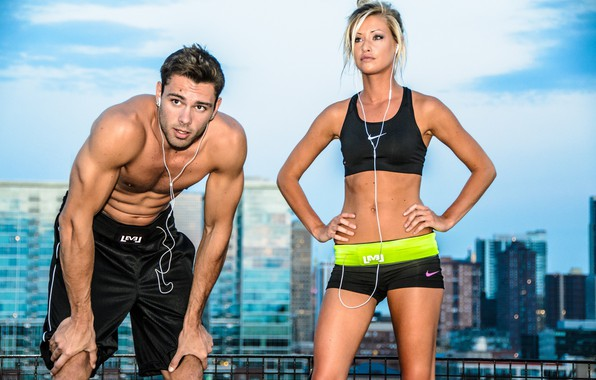 Картинка взгляд, поза, улица, фигура, пара, фитнес, двое, muscle, мышцы, мускулы, пресс, атлет, workout, fitness, abs, …
