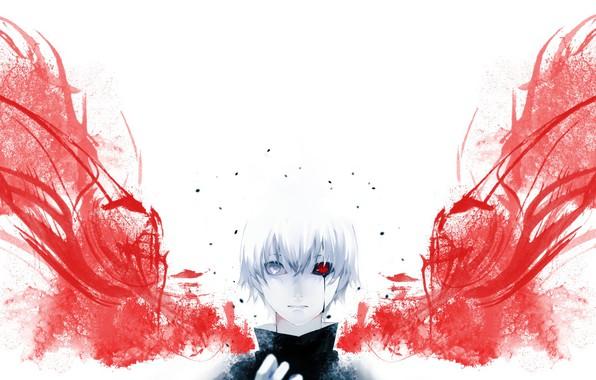 Картинка парень, Tokyo Ghoul, Токийский Гуль, Канеки Кен