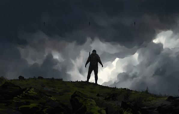 Картинка Art, Game, Illustration, Game Art, Death Stranding, Roman Avseenko, by Roman Avseenko