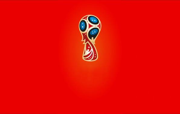 Картинка футбол, минимализм, Россия, 2018, Кубок Мира