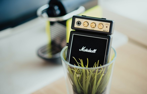 Картинка стакан, музыка, растение, music, колонка, glass, plant, кофемашина, column, маршал, a coffee machine, пластиковый стакан, …
