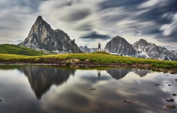 Картинка landscape, Dolomites, Italie