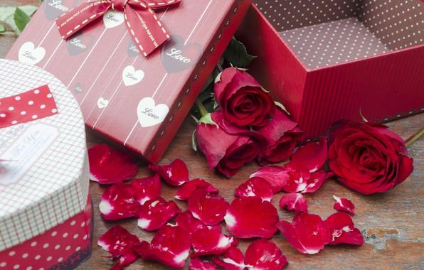 Картинка цветы, подарок, розы, pink, flowers, romantic, gift, roses, розовые розы, with love