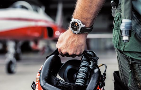 Картинка Breitling, chronometer, Swiss Luxury Watches, швейцарские наручные часы класса люкс, analog watch, Брайтлинг, Swiss Air …