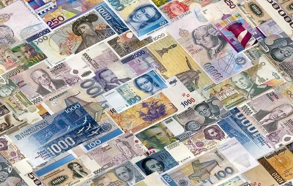 Картинка деньги, валюта, банкноты