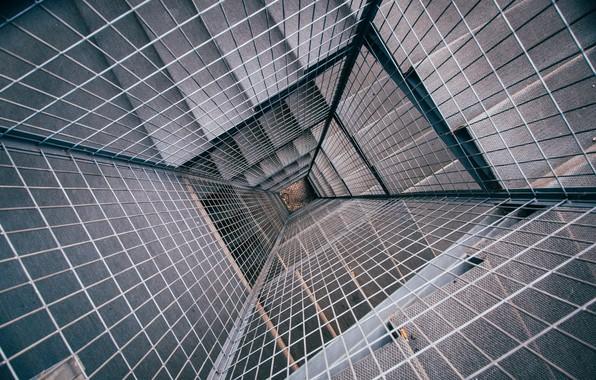 Картинка решетка, лестница, вниз