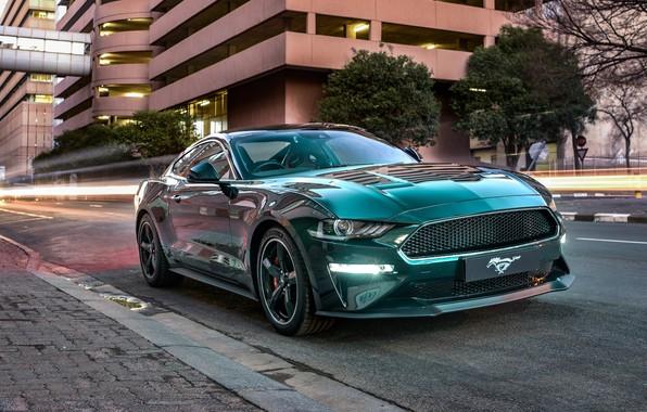 Картинка Mustang, Ford, Bullitt, 2019