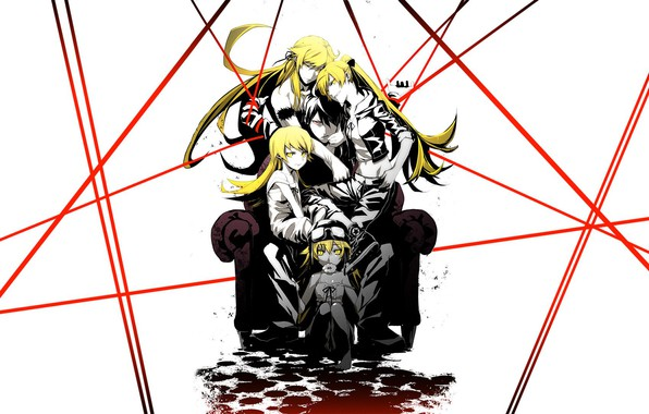 Картинка Anime, Girls, Monogatari