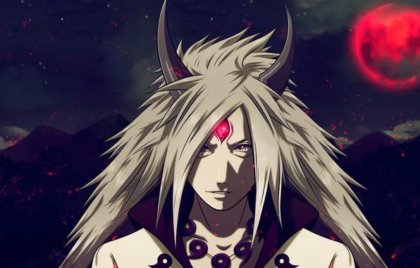 Картинка naruto, anime, sasuke, madara