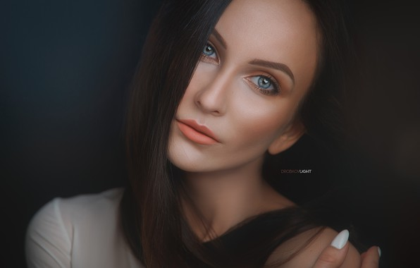 Картинка портрет, Девушка, макияж, Alexander Drobkov-Light, Ирина Буянова