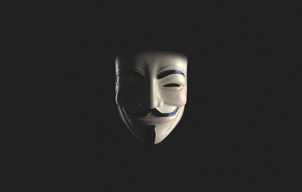 Картинка Минимализм, Фон, Маска, Vendetta, Арт, Art, Anonymous, Guy Fawkes, Анонимус, Minimalism, Персонаж, Mask, Гай Фокс, …