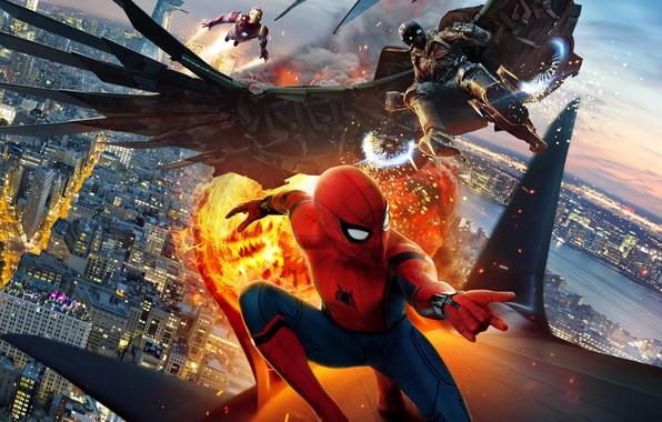 Картинка Marvel, Человек Паук, Человек Паук Возвращение домой