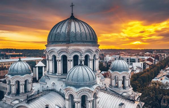 Картинка собор, Lietuva, Kaunas