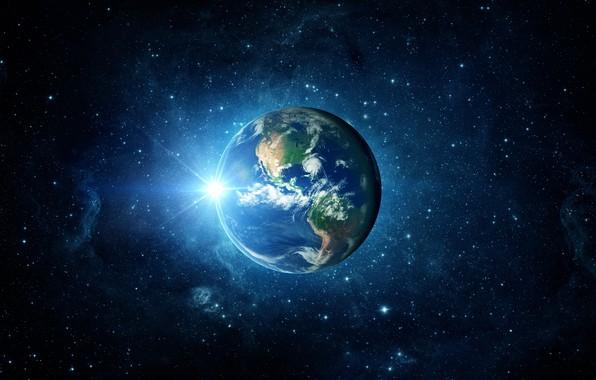 Картинка light, Earth, planet