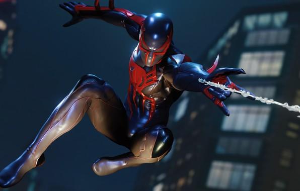 Картинка человек, паук, Marvel's Spider-Man