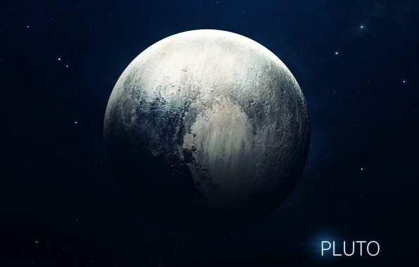Картинка Звезды, Планета, Космос, Ягоды, Плутон, Арт, Stars, Space, Art, Planet, Система, Berries, Pluto, System, Солнечная ...