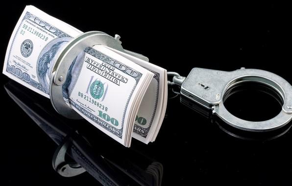 Картинка фон, деньги, наручники