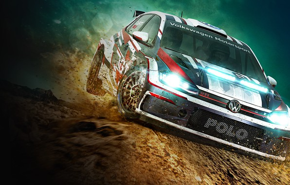 Картинка Dirt, Rally, Polo GTI, Wolkswagen, codemasters, Dirt Rally 2.0