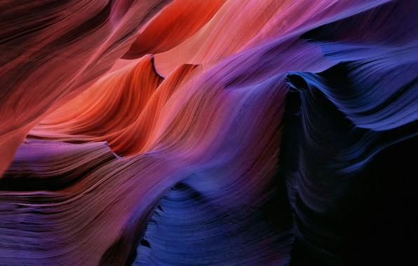 Картинка скалы, текстура, Каньон Антилопы