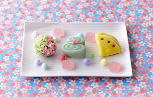 Картинка печенье, конфеты, сладости, десерт, пироженное