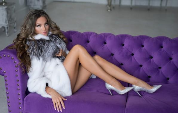 Картинка девушка, секси, модель, ножки, Лилия Капитонова, Alexander Plonsky