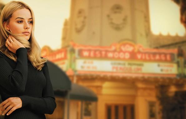 Картинка актриса, блондинка, blonde, margot robbie, марго робби, once upon a time in hollywood, шэрон тейт, …