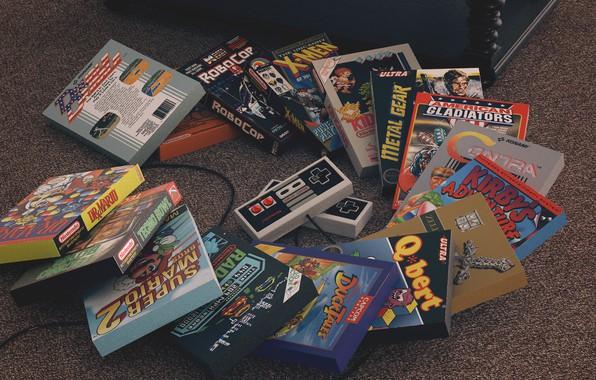 Картинка Games, Art, X-Men, Metal Gear, Nintendo, Game, Retro, Concept Art, RoboCop, The Legend of Zelda, ...