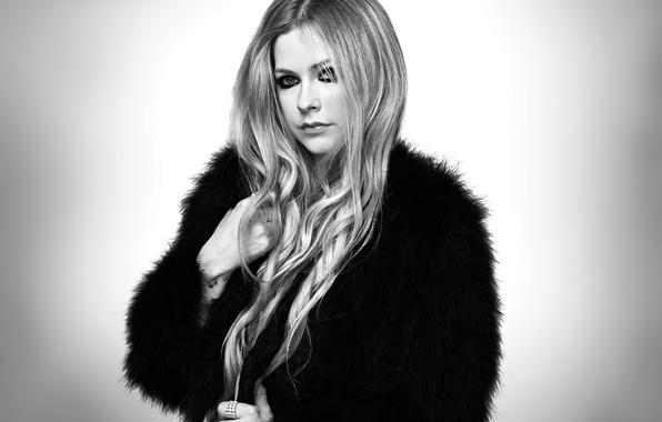Картинка Девушка, Girl, Avril Lavigne, Певица, Singer, BeautIful