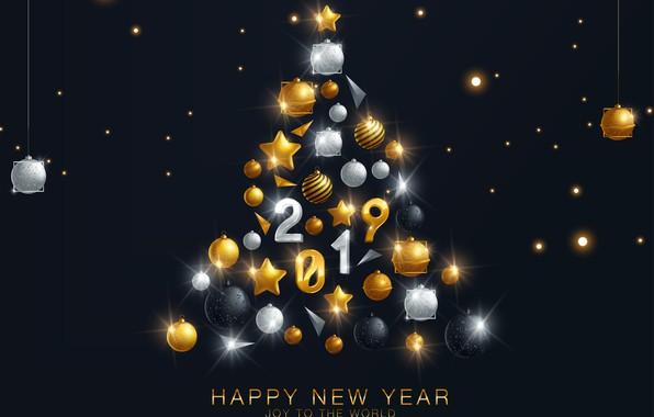 Картинка украшения, шары, елка, Новый Год, Рождество, happy, Christmas, balls, New Year, decoration, xmas, Merry, fir …