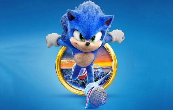 Картинка Соник, Sonic, 2020, The Hedgehog, Sonic The Hedgehog