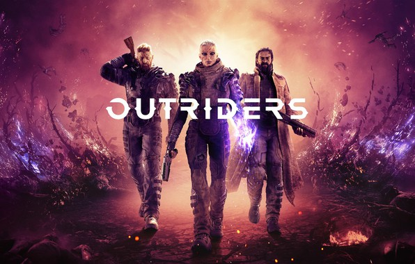 Картинка Game, Outriders, People Can Fly