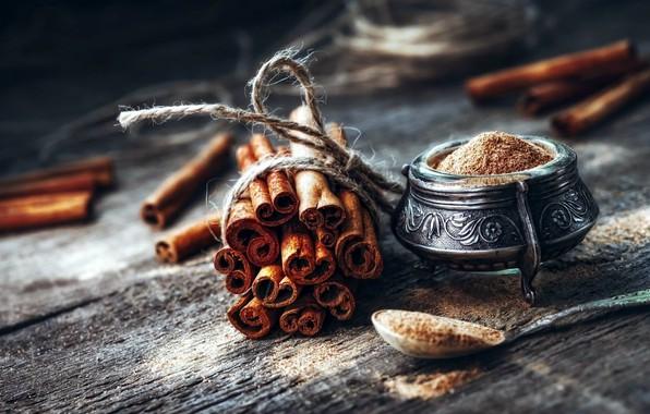 Картинка палочки, корица, wood, пряности