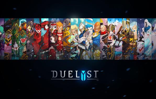 Обои fantasy, game, digital art, artwork, concept art, characters, simple background, Duelyst