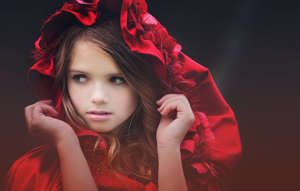 Картинка взгляд, капюшон, девочка, подросток, Amber Bauerle