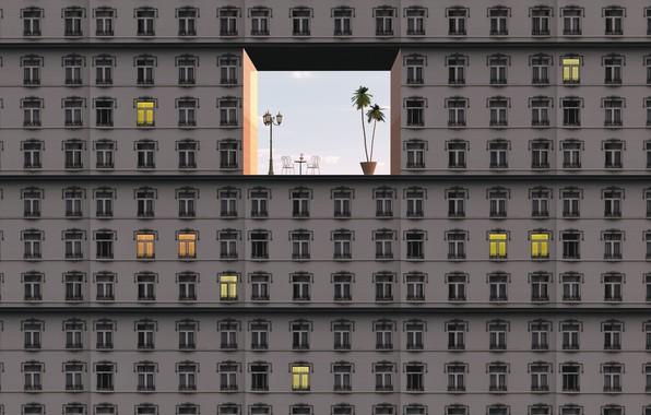 Картинка здание, окна, windows, building, sther Margraff