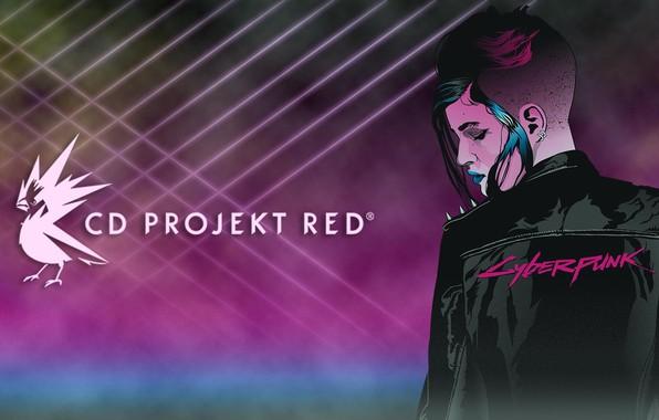 Картинка Девушка, Игра, Неон, Арт, CD Projekt RED, Cyberpunk 2077, Киберпанк, Cyberpunk, Киберпанк 2077, 2077, Видеоигра