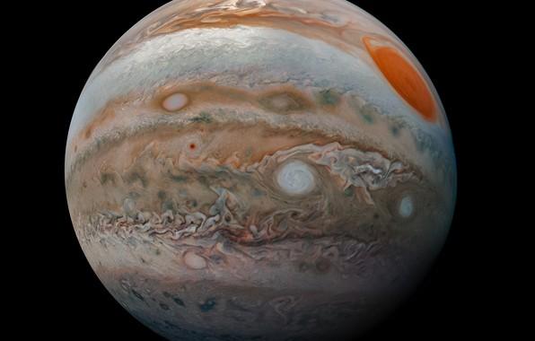 Картинка космос, планета, Юпитер