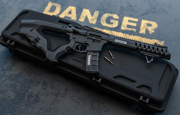 Картинка рендеринг, оружие, gun, weapon, render, кастом, custom, AR-15, штурмовая винтовка, assaul rifle, АР-15