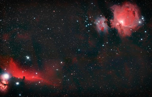 Картинка space, universe, Galaxy, nebula, stars, cosmos, Horsehead Nebula