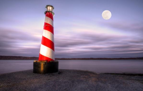 Картинка берег, маяк, United States, Pennsylvania, York
