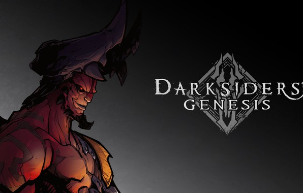 Картинка демон, Samael, Darksiders: Genesis, Самаэль, принц крови