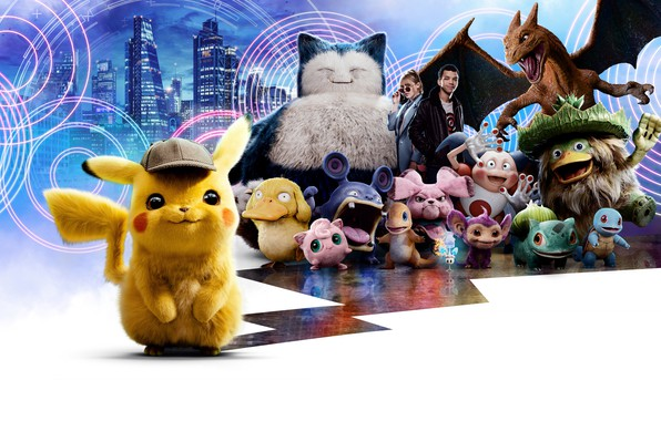 Картинка Girl, City, Action, Ryan Reynolds, Dragon, Lightning, The, Cat, Family, Lucy, year, Boy, Pokemon, EXCLUSIVE, ...