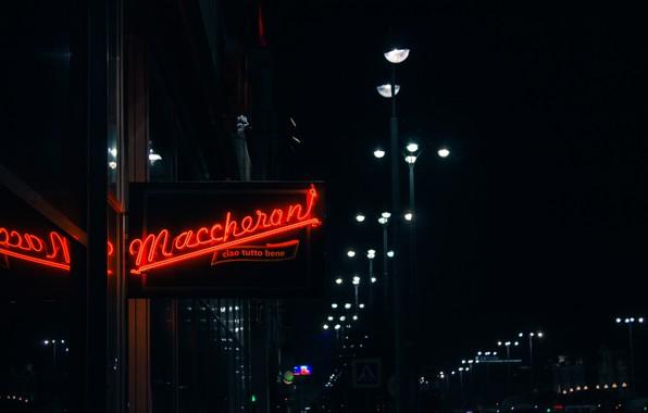 Картинка Light, Night, Neon, Signboard